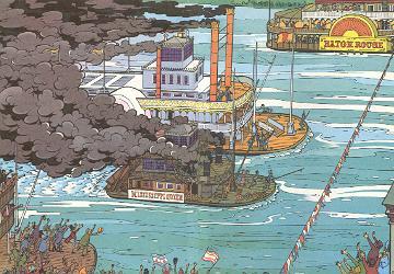 Schiffsrennen auf dem mississippi mosapedia for Schaukelstuhl wiki